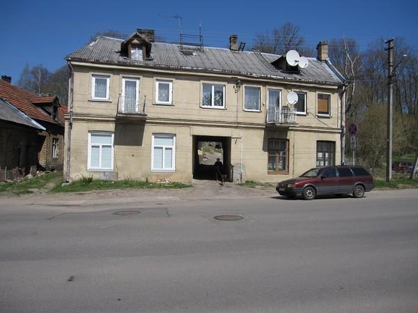 Bostadshus i Užupis, Užupis, Vilnius.