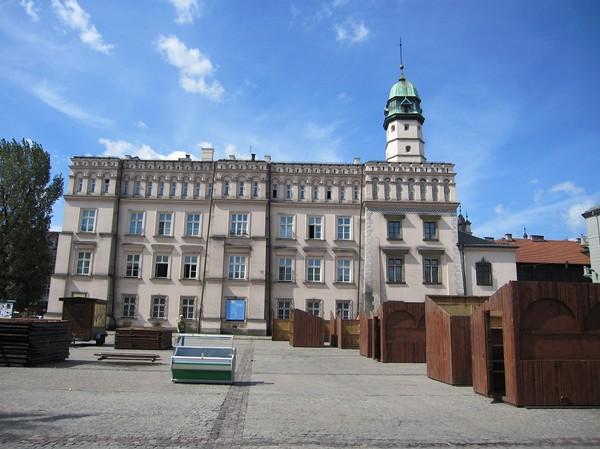 Gamla stadshuset i Kazimierz, västra Kazimierz, Krakow.