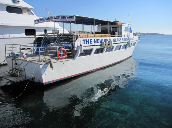 Hamnen i Pafos, Cypern.