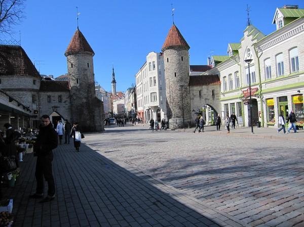 Gamla staden, Tallinn.
