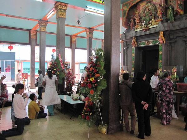 Mariamman Hindu temple, Saigon.