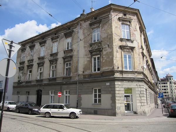 Gatuscen i judiska kvarteret, Kazimierz, Krakow.