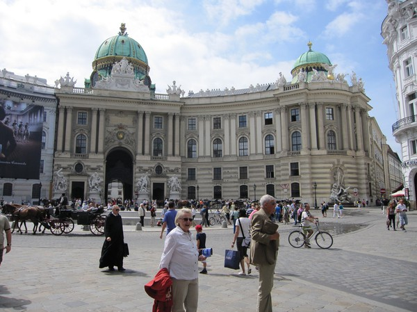 Michaelerplatz, Wien.