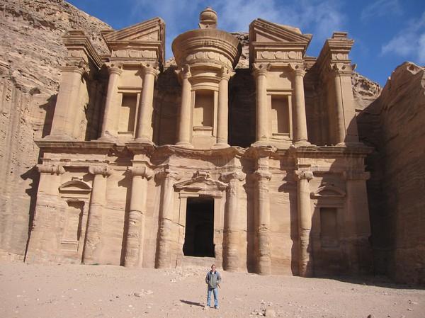 Ad-Deir (Monastery), Petra. Det obligatoriska bildbeviset på att jag var där!