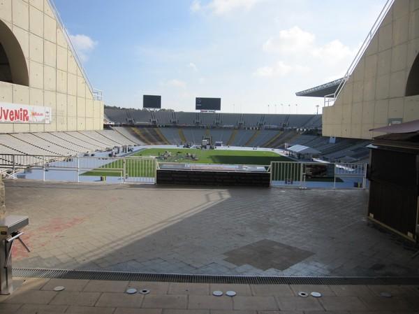 Estadi Olímpic de Montjuïc, Barcelona.