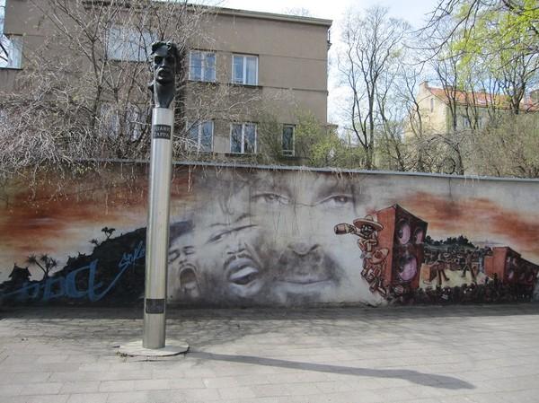 Frank Zappa hedrad, Vilnius.