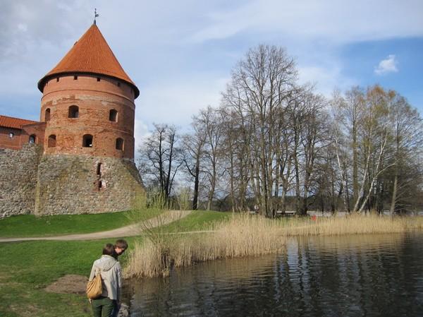 Slottet i Trakai, Trakai.