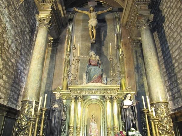 Santa Maria del Pi, Barcelona.