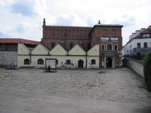 Old Synagogue, Polens äldsta synagoga. Byggdes någon gång under 1400-talet. Judiska kvarteret, Kazimierz, Krakow.