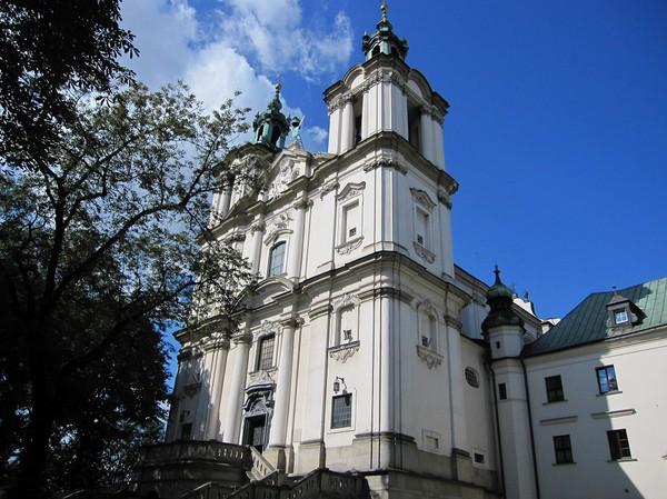 Pauline Church of SS Michael & Stanislaus, västra Kazimierz, Krakow.