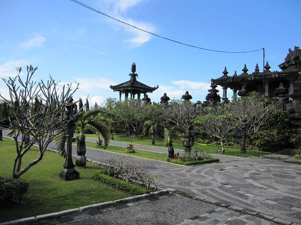 Bajra Sandhi Monument i centrala Denpasar, Bali.