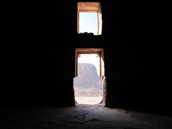 Inuti Urn tomb, royal tombs, Petra.