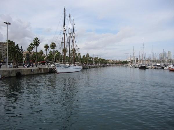 Port de Barcelona, Barcelona.