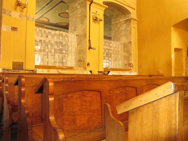 Inuti Remuh synagogue, judiska kvarteret, Kazimierz, Krakow.