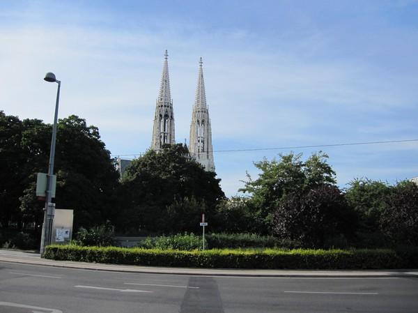 Votivkirche byggd år 1879, Wien.