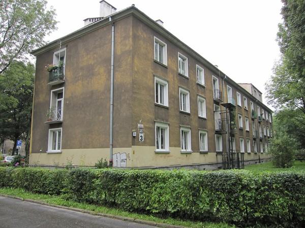 Bebyggelse i Nowa Huta, Krakow.