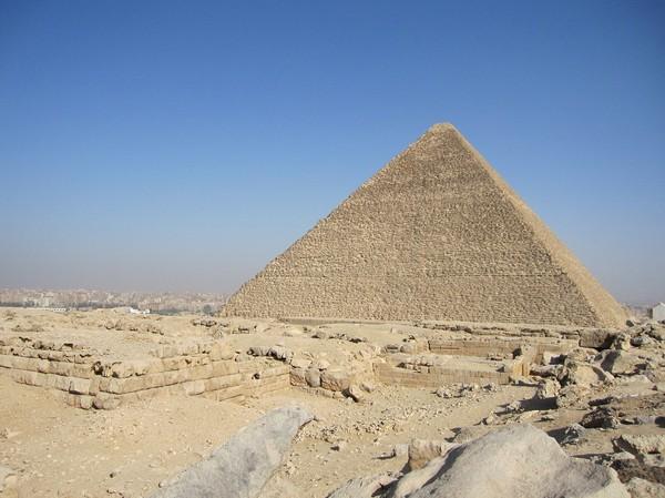 Cheops pyramiden.