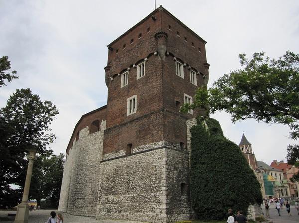 Uppe i Wawel Royal Castle, Krakow.