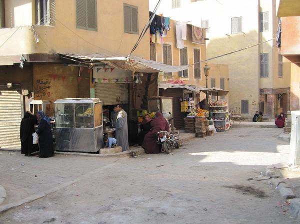 Gatuscen coptic Cairo, Kairo.