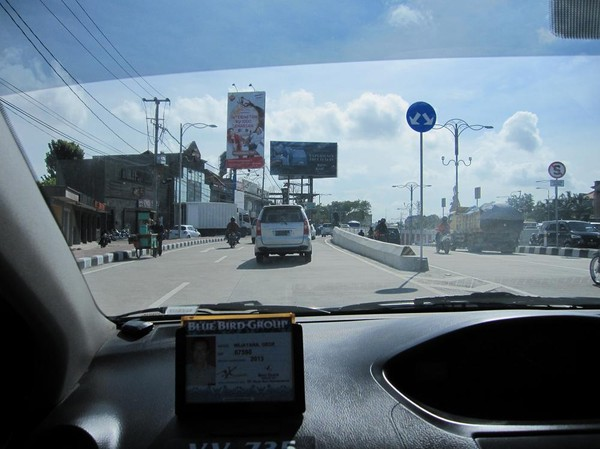 Taxiresa med Bluebird Group, Bali.