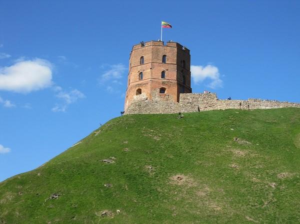 Castle tower, Gediminas Hill, Vilnius.