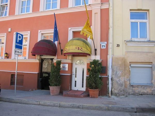 Rinno Hotel, mitt boende i Vilnius.