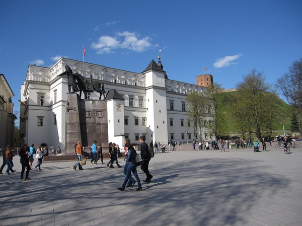 Royal palace, Vilnius.
