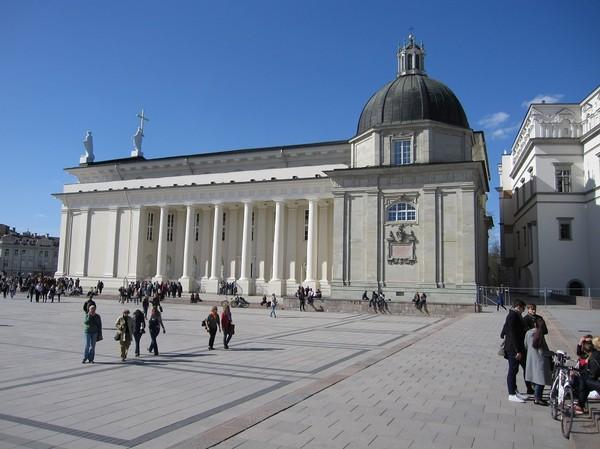 Vilnius cathedral, Vilnius.