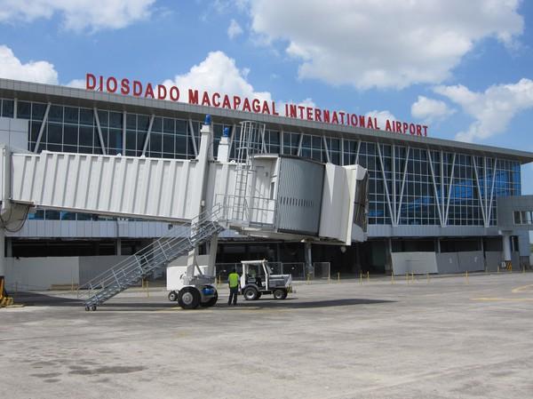 DMIA, Clark, Angeles city. På väg till Bangkok med flygbolaget SEAIR. Adjö till Filippinerna för den här gången.