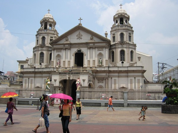 Quiapo church, Manila.