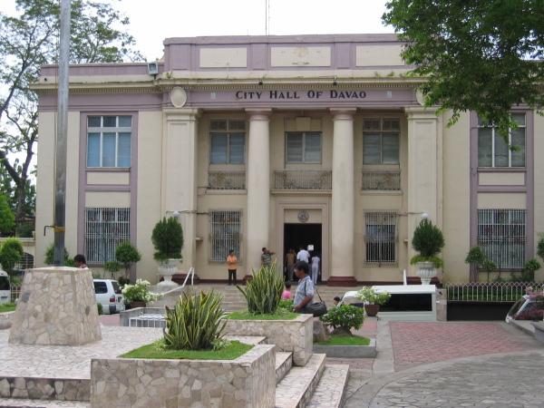 Stadshuset i Davao, Mindanao.