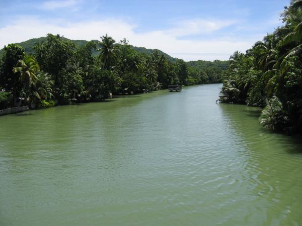 Loboc river, Bohol.