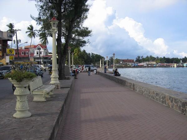 Promenaden i Dumaguete.