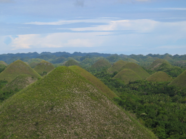 Chocolate Hills, Bohol.