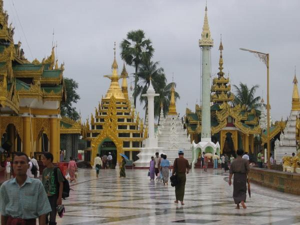 Schwedagon Paya, Yangon.