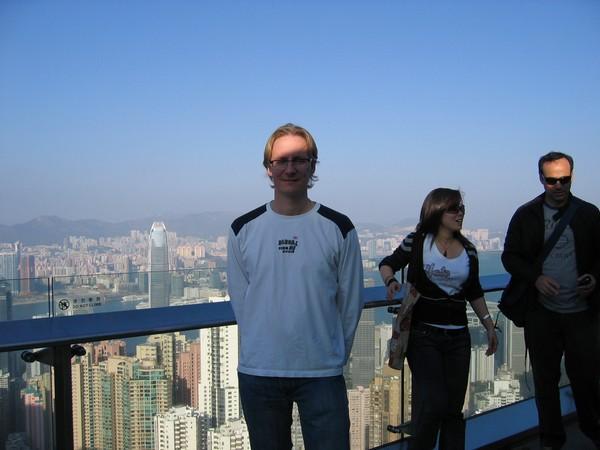 Victoria Peak viewing deck, Hongkong.