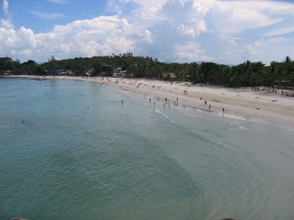 Haad Rin Beach (Full Moon Party Beach), Koh Phangan.