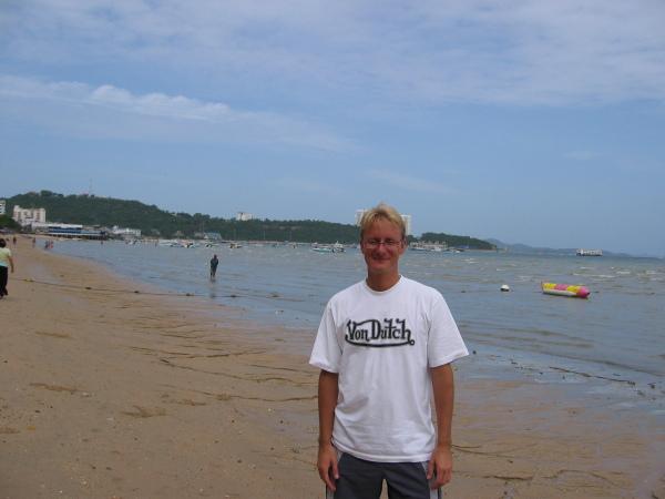 Pattaya Beach, Thailand.