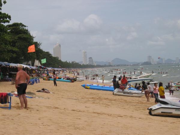 Jomtien Beach, Thailand.