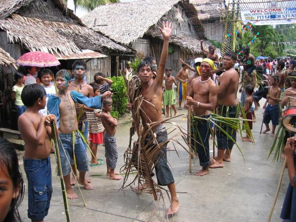 Sinulog Festival Dapa, Siargao.
