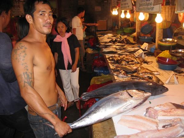 Public Market, General Santos. Tonfisk.