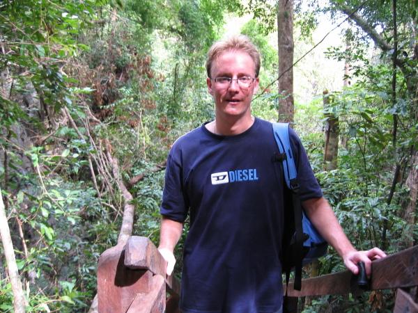 Stefan, Jungle Trail, Sabang, Palawan.