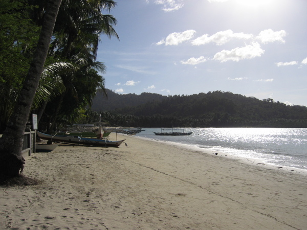 Port Barton, Palawan.