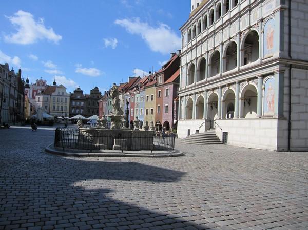 Gamla stan (Stary Rynek) i Poznan.