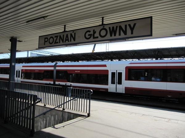 Poznan Glowny, Polen.