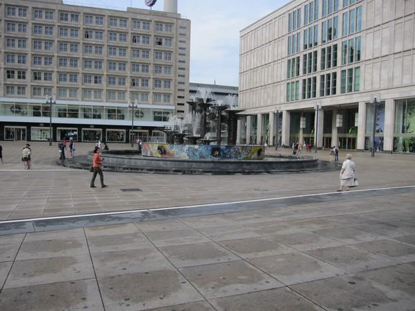 Alexanderplatz, Berlin.