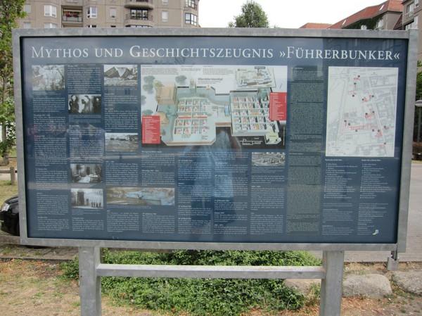 Platsen för Hitlers Bunker.