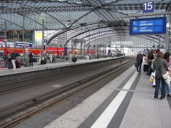 Berlin Hauptbahnhof.