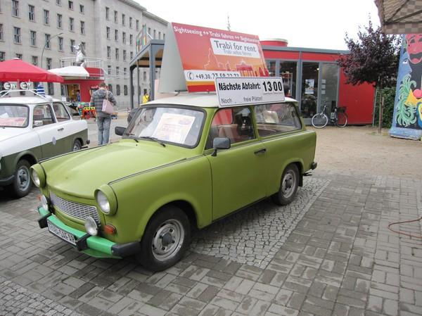 Sightseeingtur i en Trabant, Berlin.
