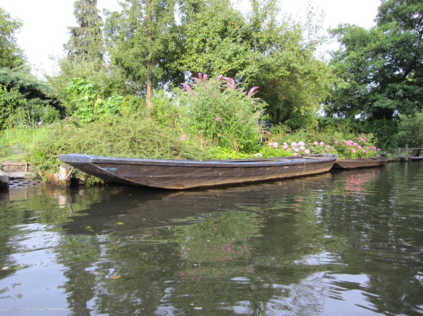 Traditionell båt, Leipe.